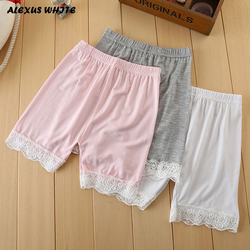 Modal Baby Bloomers Newborn Girls Solid Infant Baby   Shorts   Lace Diaper Cover Summer Style Pink Black White Gray 0-5 Years