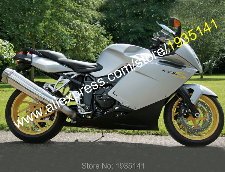 Hot Sales,Sportbike Body Kit For BMW K1200S 2005 2006 2007 2008 K1200S 05 06 07 08 K 1200S Aftermarket ABS Motorcycle Fairing hot sales for bmw k1200s parts 2005 2006 2007 2008 k1200 s 05 06 07 08 k 1200s yellow bodyworks aftermarket motorcycle fairing