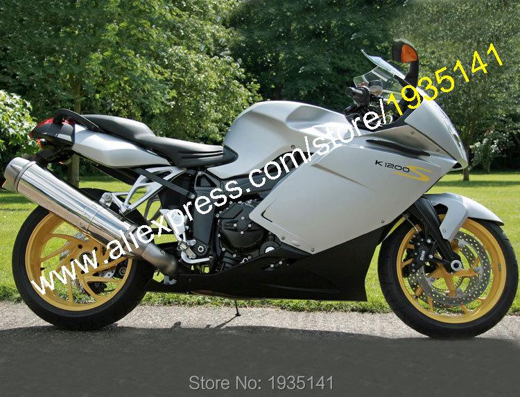 Горячие продаж,Спортбайк обвес для BMW К1200Ѕ 2005 2006 2007 2008 К1200Ѕ 05 06 07 08 к 1200-х послепродажного мотоцикла ABS обтекатель