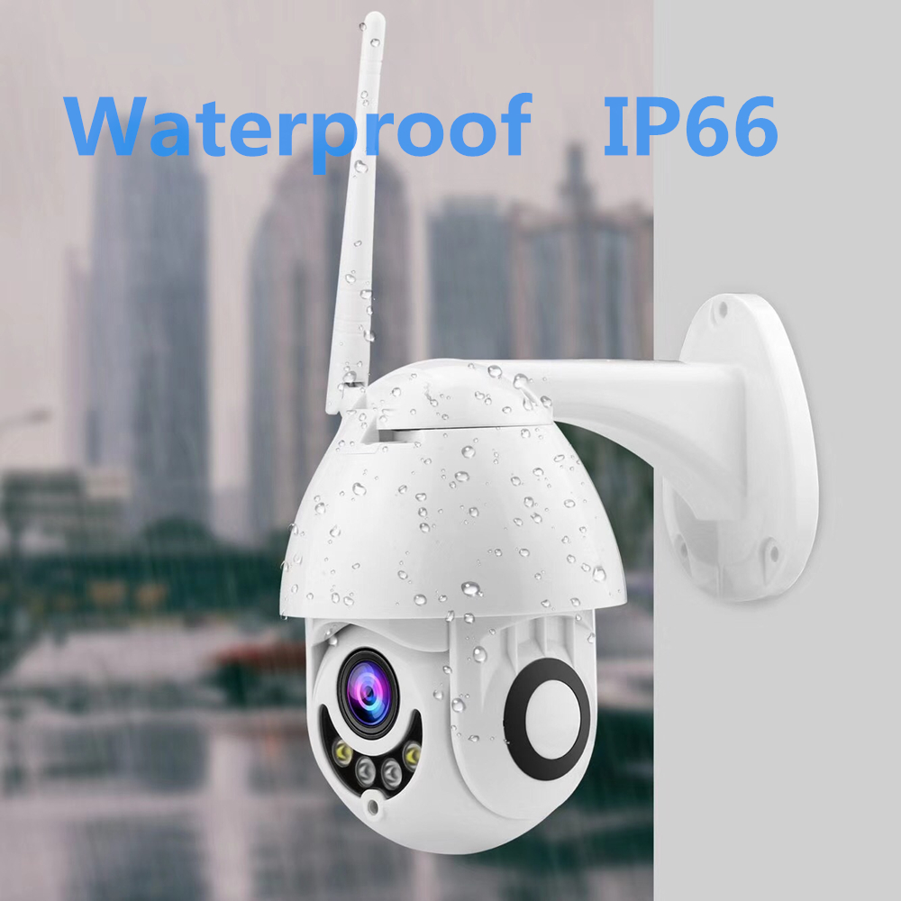 Image 4 - 1080P Wifi IP Camera Outdoor Two Way Audio PTZ 5X Optical Zoom Night Vision IR 60M Wireless Security Speed Dome Camera P2P-in Surveillance Cameras from Security & Protection