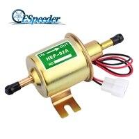 ESPEEDER Low Pressure Petrol Gasoline Diesel 12V Electric Fuel Pump Light Weight HEP 02A For Car