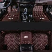 Автомобильные коврики для volvo v50 v40 c30 xc90 xc60 s80 s60 s40 v70 v60 xc40, аксессуары для ковров