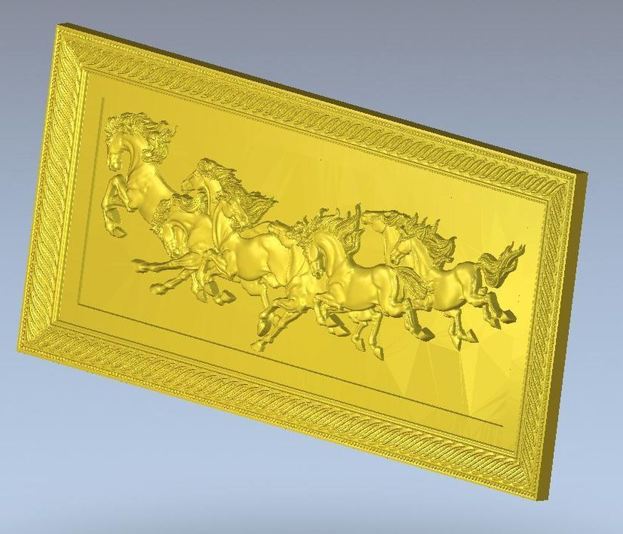 3d  model Panno_herd relief  for cnc in STL file format