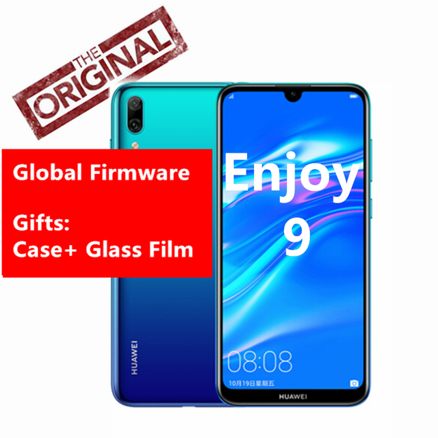 "Global Rom Huawei Enjoy 9 Phone 6.26"" Fullview 4000mAh Fast Face Unlock Snapdragon 450 Octa Core Android 8.1 13MP AI Cameras"