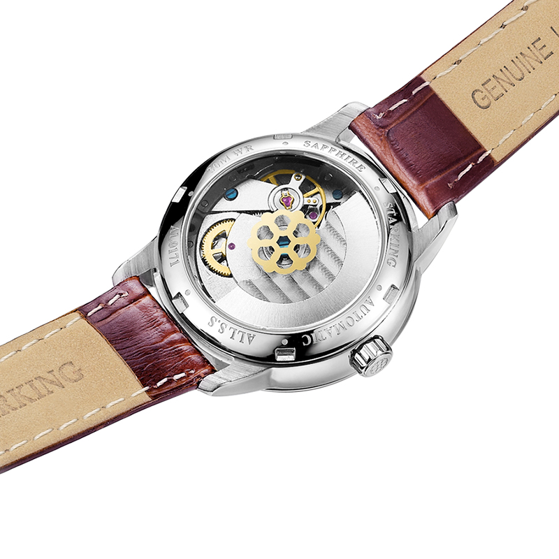 STARKING Dames skeleton automatische mechanische horloges luxe - Dameshorloges - Foto 4