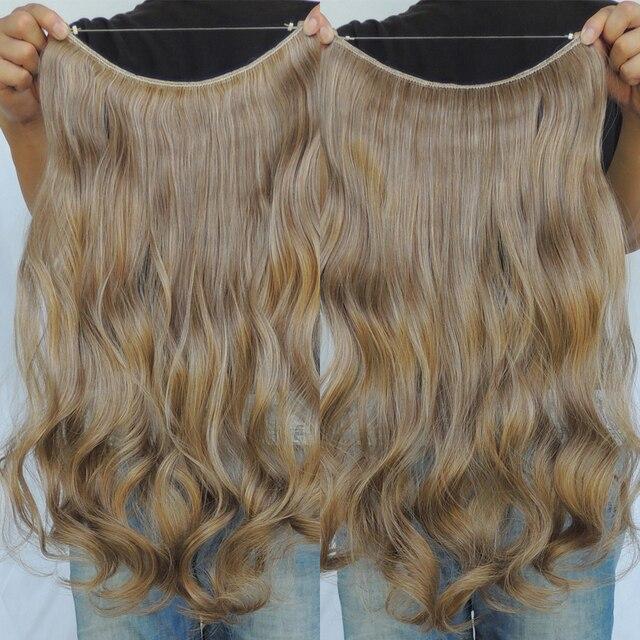 Cosplay Hair Extensions Dark Blonde Flip In Extension Piece 20inch