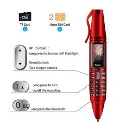 MP3 Player Smart Bluetooth Call Dialer Portable Flashlight Recording Camera Pen Wireless Audio Mini Mobile Phone Headset Speaker