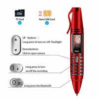 Reproductor MP3 inteligente Bluetooth llamada marcador portátil flash grabación Cámara pluma Audio inalámbrico Mini auricular de teléfono móvil altavoz