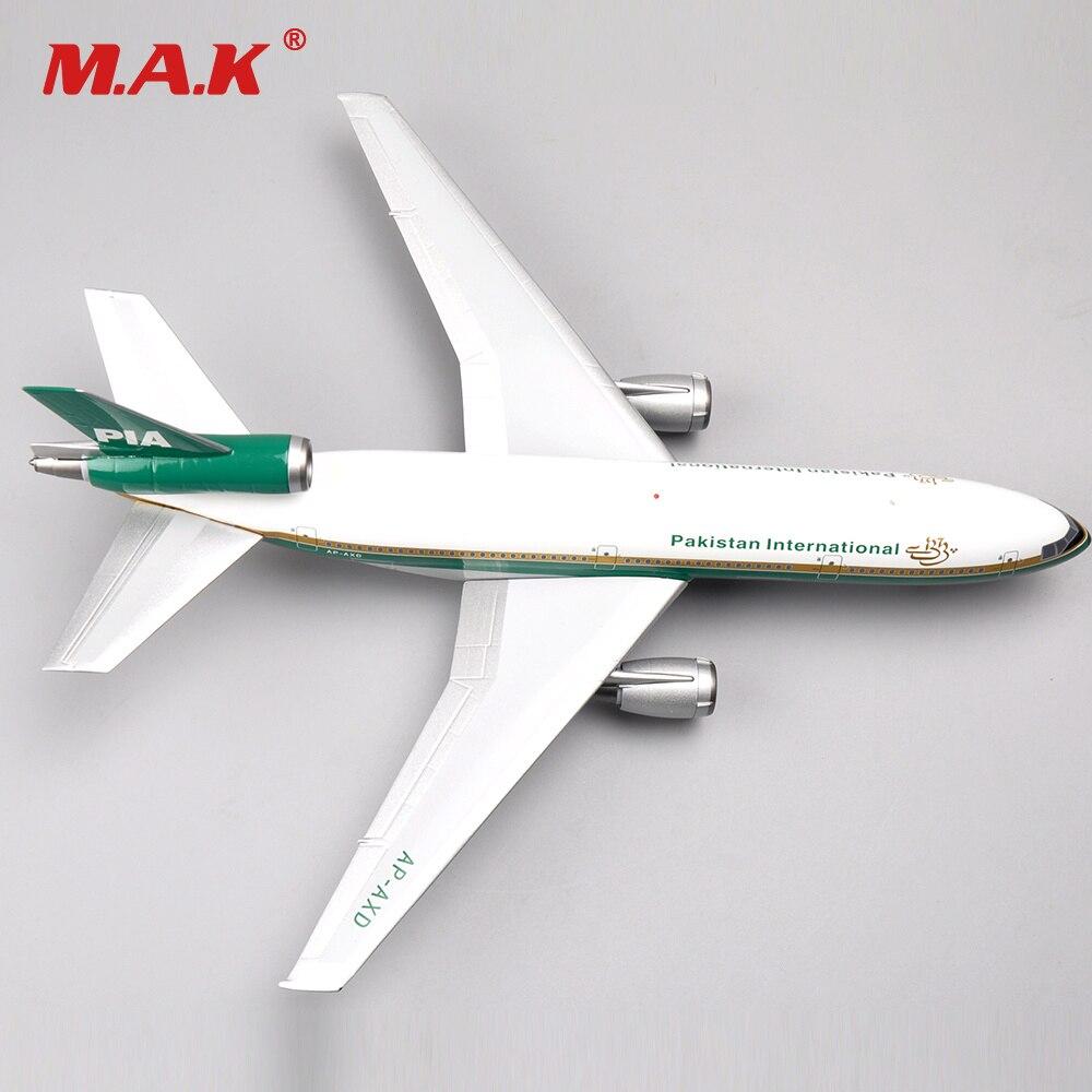 1/200 Inflight Diecast DC-10-30 PIA AP-AXD McDonnell Douglas Airplane Model Toys For Children Kid Birthday Gift