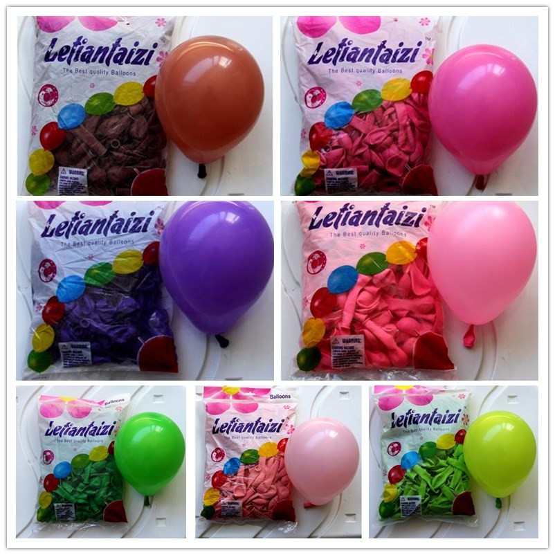 "10/"" inch Small Round Latex Best Balloons Quality Standard ballon Colour baloon"