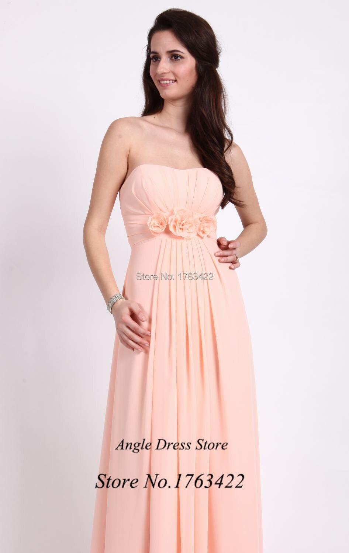 Vestido de madrina de Casamento Longo color Coral dama de honor ...