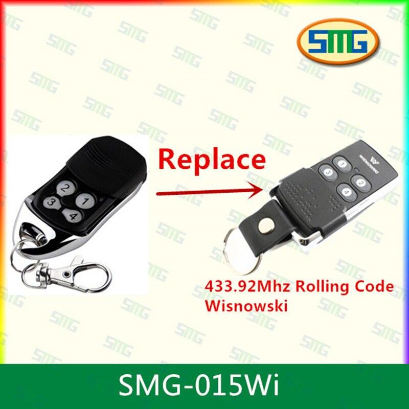Scimagic Бесплатная доставка wisnowski Совместимость гараж Дистанционное управление 433.92 мГц плавающий код