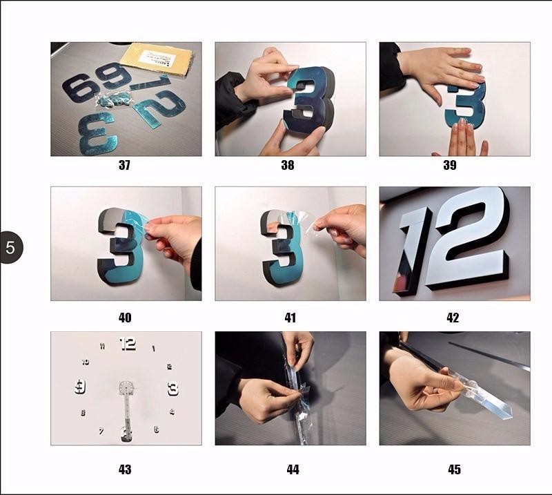 HTB1bqUGJXXXXXctXFXXq6xXFXXXK - Zegar ścienny Akryl 3 rozmiary