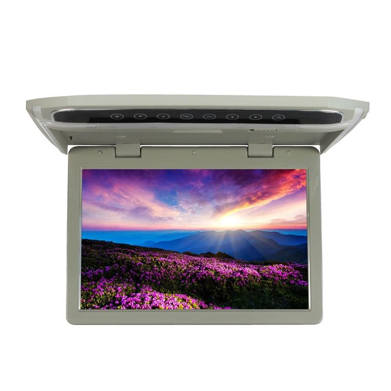 12.1 inch Slim Dedign Roof Mount Monitor,HDMI Input,LED Technology,HD Resolution,Blue Ambience Light,AV Input 3 Colors SH1218