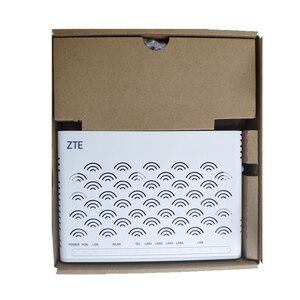 Image 2 - גרסה חדשה 6.0 ZTE GPON נתב ZXA10 F660 ONU/ONT עם 1GE + 3FE + 1 קול + WIFI + 1USB, רשת אופטית מסוף אנגלית גרסה