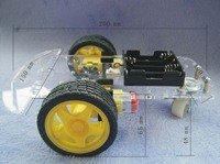 Free Shipping New 2 WD Smart Robot Car Chassis Kits With Speed Encoder Battery Box For