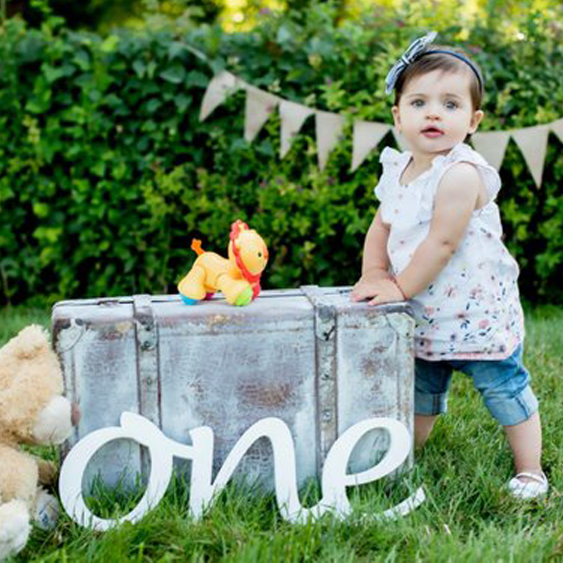 ONE 1st Birthday photo props one for photos wooden letters First Birthday ONE photo props one