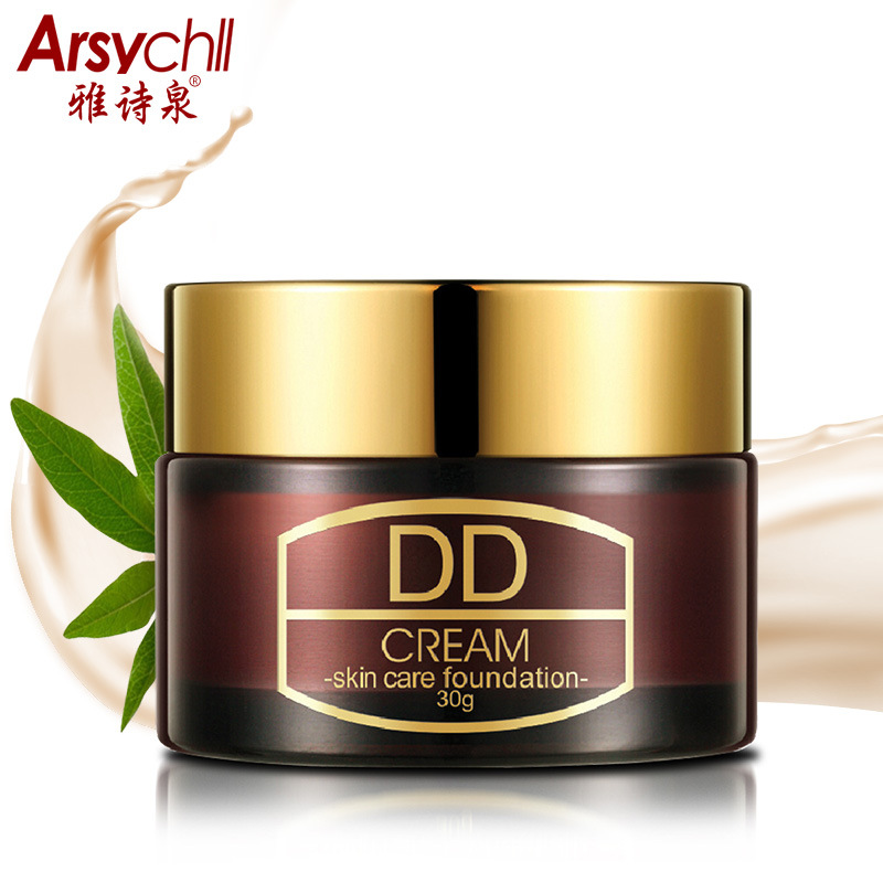 Arsychll D D naked makeup face cream BB whitening replenishment cream concealer cc cream base skin Facial Care Sunscreen professional concealer palette 15 color facial face cream care camouflage makeup base palettes cosmetic rlbt