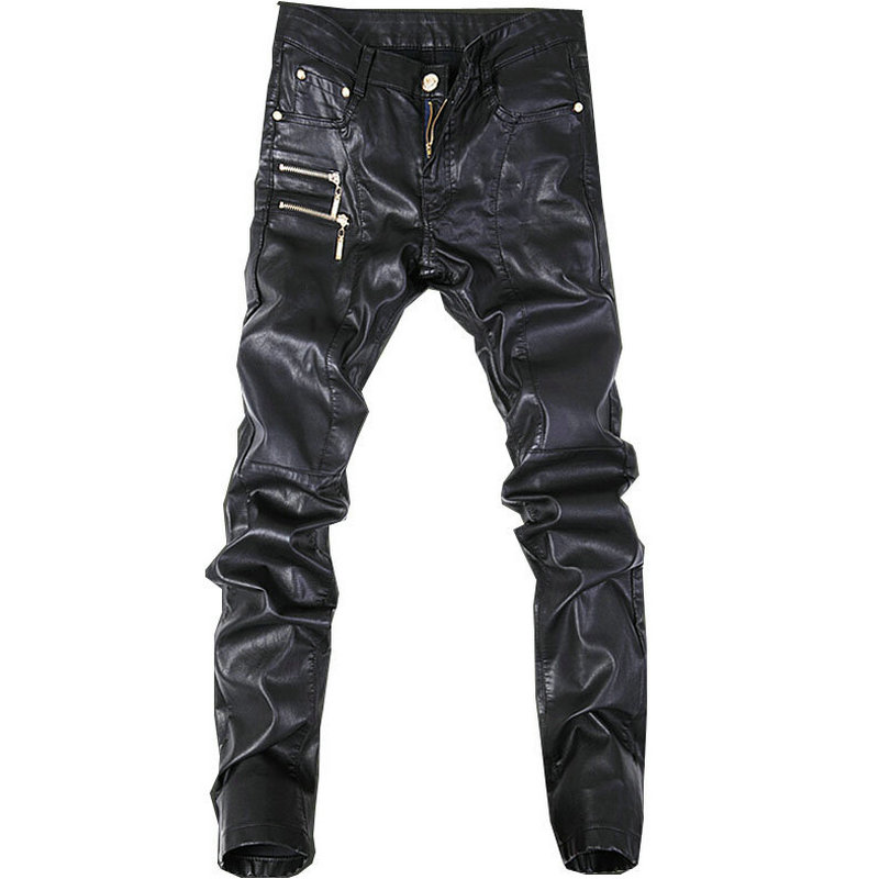 Online Get Cheap Mens Skinny Leather Pants -Aliexpress.com ...