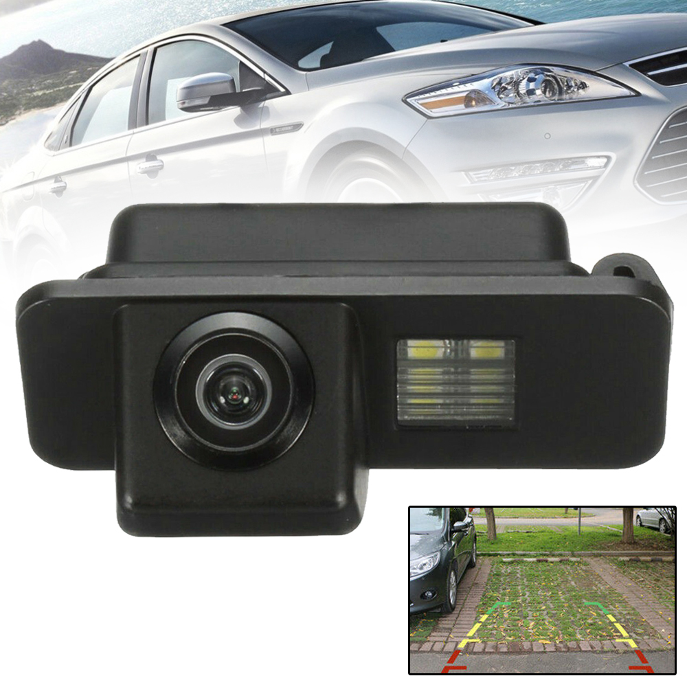 For FORD MONDEO FIESTA FOCUS S Max Kuga Waterproof CCD Color Rear View Reverse Parking Camera Night Vision Mayitr|Vehicle Camera| |  - title=