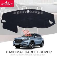 smabee For hyundai Tucson 2015-2017 Dash Mat Dashmat Black Carpet Car Dashboard MAT Sunscreen insulation