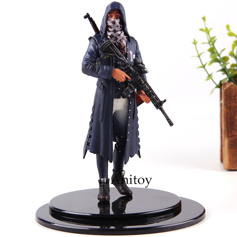 PUBG Hot Game Playerunknown's BattleGrounds The Ultimate Life & Death Fight Action Figures PVC Collection Model Boys Toys Gifts