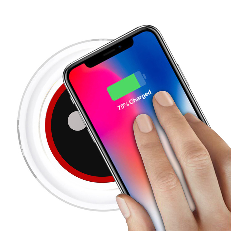 QI Wireless Charger For Oneplus 5T 5 T FIVE Wireless Charger Power Bank Case Charging Pad