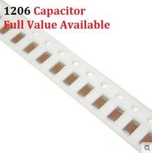Capacitor 100 1206 smd, 104 peças 472 103 smd 4.7nfc 10dll 22npn 47f 100dll 50 v 223 473 224 k/m/z 0.01/0.022/0.047/0.1/0.22/uf kit