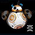 Обновлен Звездные войны RC BB-8 Робот Звездные войны 2.4 Г Дистанционного управления BB Робота Интеллектуальные Игрушки Силы Пробуждение Баланс Робот подарки