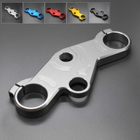FX CNC Motorcycle Front Fork Lowering Triple Tree Front End Upper Top Clamp For Suzuki GSXR600 GSXR750 GSXR 1000 2001 2002