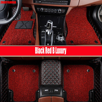 """ZHAOYANHUA Car floor mats for BMW 2 series F22 Coupe F23 Convertible F45 Active Tourer F46 Gran Tourer car styling carpet(2014-"