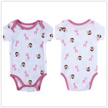 Autumn 1 Piece Cotton Style Baby Girl Boy Winter Clothes Monkey and Giraffe New Born Body Baby Ropa Next Baby Bodysuit r018