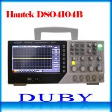 Hantek DSO4104B banc de stockage numérique Type Oscilloscope 100 MHz 4 canaux 500uV/div 1GSa/s 7 »TFT LCD longueur d'enregistrement 64 K USB