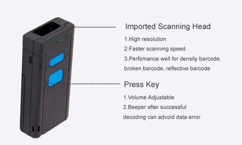 codigo de barras 1d scanner codigo