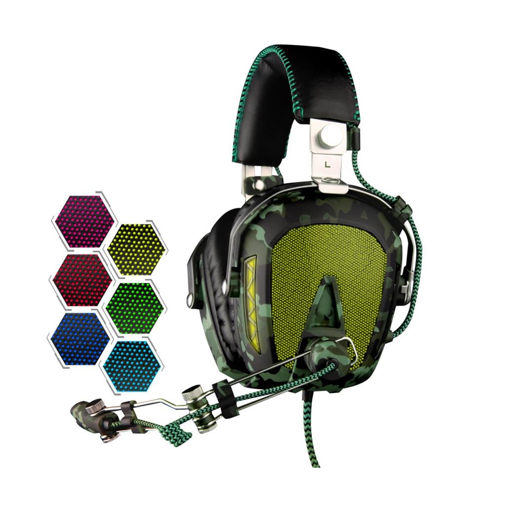Auriculares estéreo con cable SADES A90 USB 7,1 para Gaming, auriculares con micrófono y Control de voz para ordenador portátil 517 #2 - 6