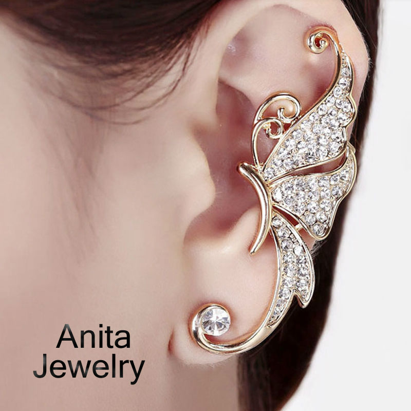 Awesome Beautiful Gold Ear Ring New Style Photos - Jewelry ...