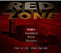 Red Zone 16 bit MD Game Card For Sega Mega Drive For SEGA Genesis