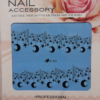 28 Styles Full Nail Stickers Water Transfer Nail Decals Black Lace 30 sheets/lot Free Shipping