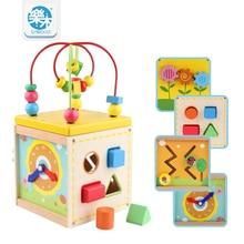 Детские деревянные игрушки для детей Деревянные Классические Мульти Форма Сортировщик Блок для Детей Подарок juguetes brinquedos Многофункциональный ящик