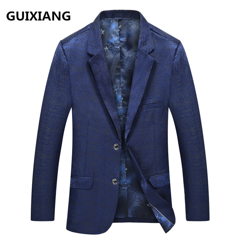 Men business casual jacket Men Dress Suit Jackets 2018 spring men's coats Business mens single breasted blazer Casual Blazers