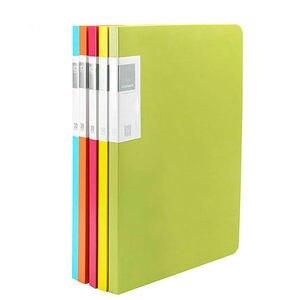 Image 2 - 20/30/40/60 Pockets Booklet A3 Folder PVC Bag Transparent Document Bag For Documents A3 Paper File Organizer
