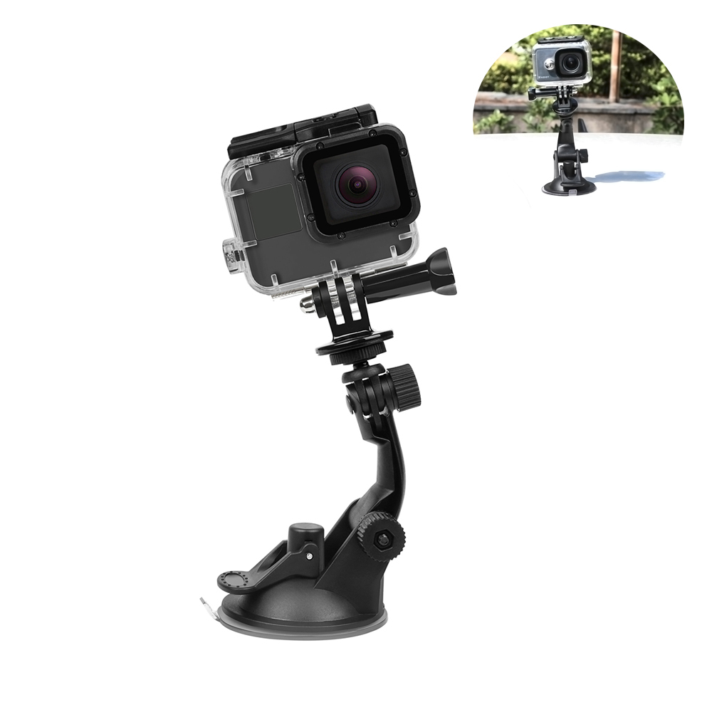 7CM Suction Cup for Gopro Hero 7 6 5 Black SJ4000 Xiaomi Yi 4K Mijia 4 k H9 with Tripod Adapter Go Pro Accessory