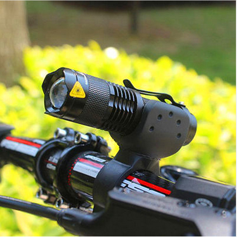RU New Bicycle Light 2000 Lumens 3 Mode CREE Q5 LED Bike Light Front Torch Waterproof + Torch Holder Support AA or 14500 Battery factory direct new caddy italics opening film ru ru ceramic sealing cans support custom logo