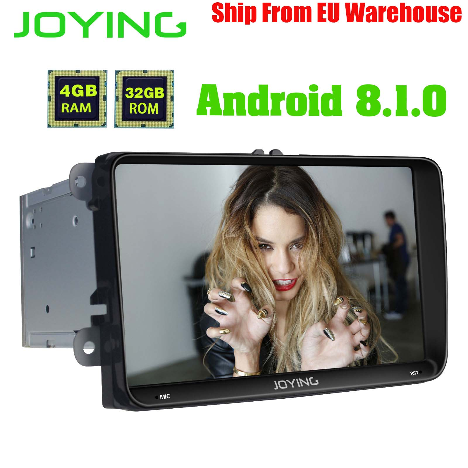 9 Head Unit Android Car Radio Stereo Built in 4G Modem 4GB 32GB For Volkswagen VW