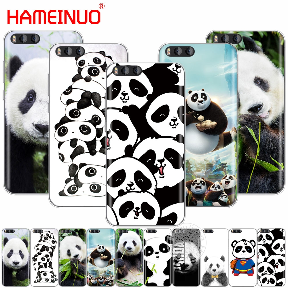 HAMEINUO lovely Cute Panda Chinese Cover Case for Xiaomi Mi 3 4 5 5S 5C 5X 6 Mi3 Mi4 4I 4C Mi5 MI6 NOTE MAX 2 mix plus