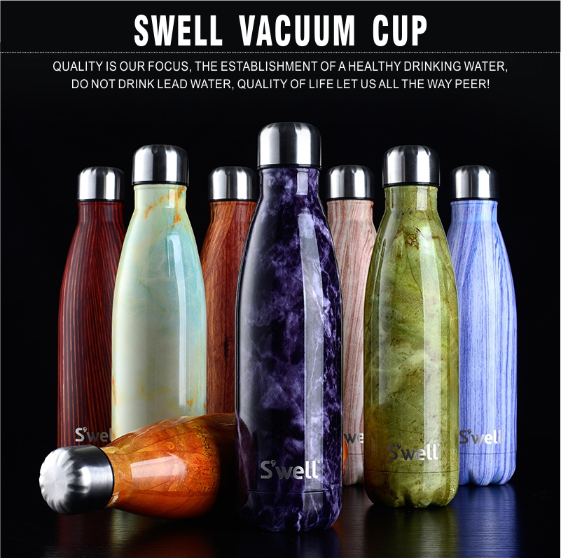 New Top Quality Swell Coke Bottle Creative Insulation Cup With High grad Stainless Steel Vacuum Bottle