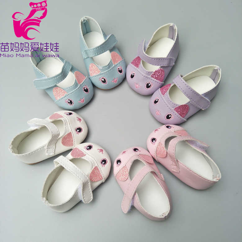 4d5f95bdb23d8 ... Doll Shoes for 43cm Newborn Baby Dolls Shoes for Reborn Bebe Doll Shoes  18 Inch Girl