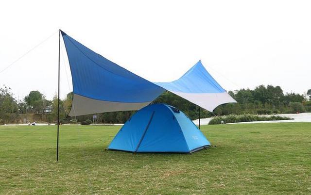 5-8 person Beach Canopy Tent Sun Awning Portable Gazebo Canopy C&ing Sun Shade Tent  sc 1 st  AliExpress.com & 5 8 person Beach Canopy Tent Sun Awning Portable Gazebo Canopy ...
