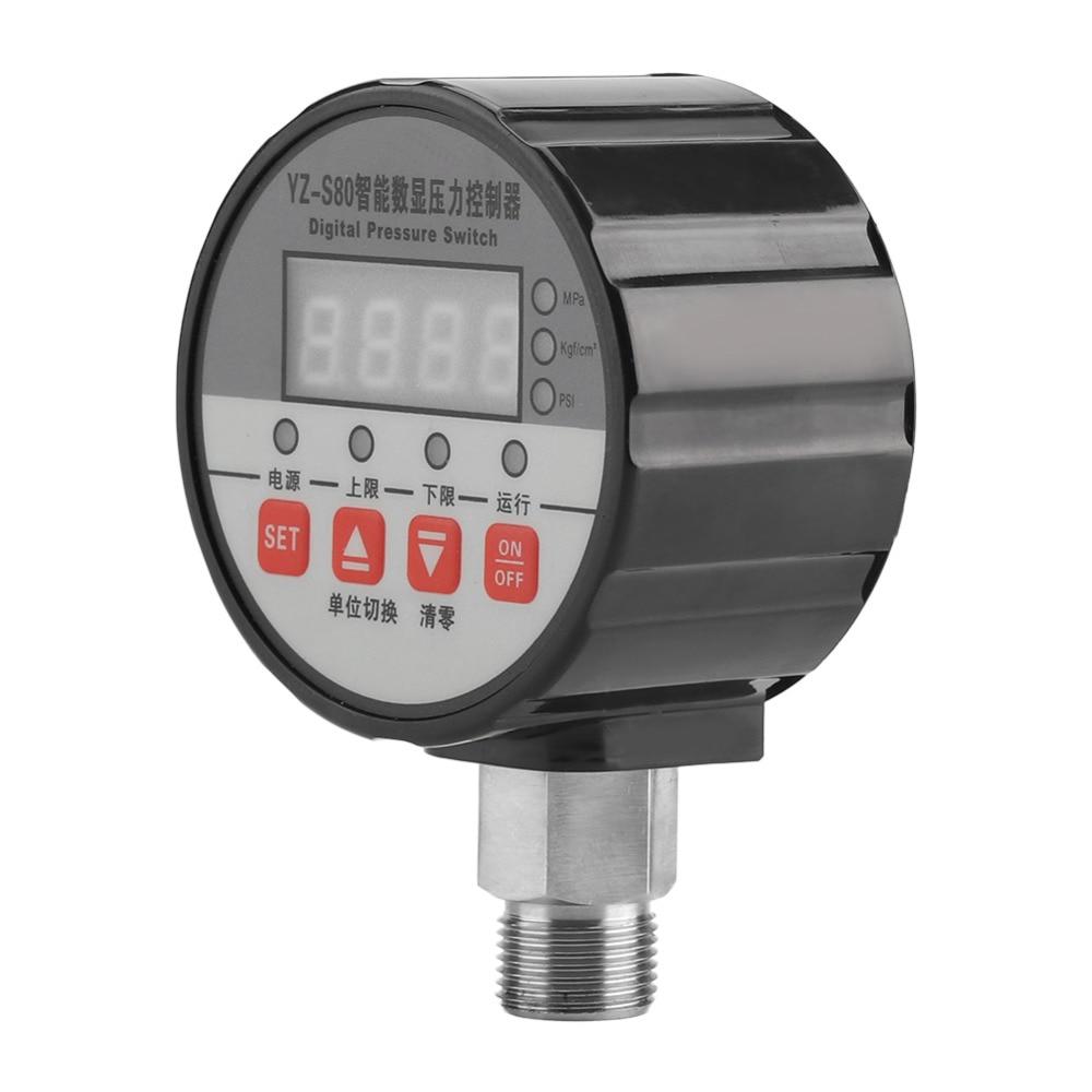 Digital LED Pressure Controller 20V Pressure Switch