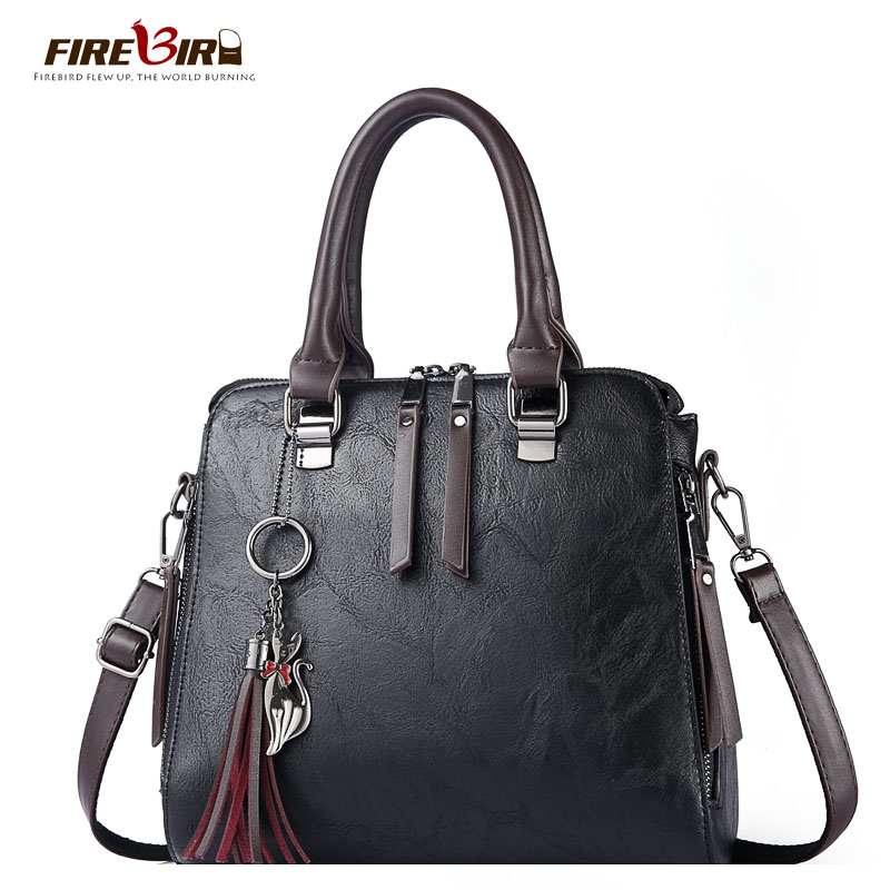 Hot fashion handbags women bags genuine leather ,100% guaranteed high quality Cow Leather Ladies handbag,Hobos sac a dos FN590 2017 hot high quality brand baotou layer of cow leather bags the new ms tassel handbag is a 100% leather handbag